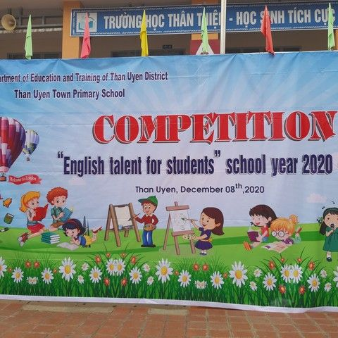 "THTT: Competition ""English talent for students"" school year 2020-2021"